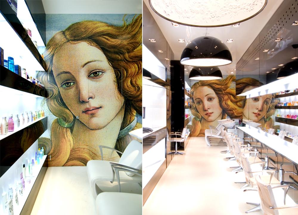 Salon de coiffure, Marseille