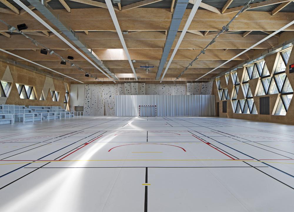 Gymnase de Costebelle, Hyères