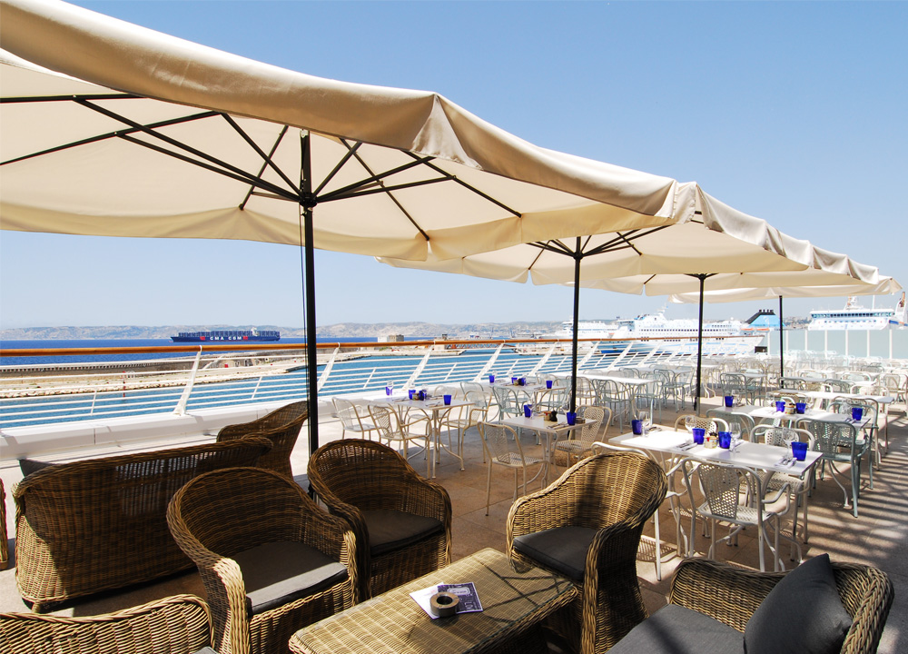 Le Réfectoire, Les Terrasses du Port, Marseille