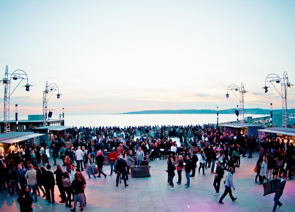 Le Rooftop, Les Terrasses du Port, Marseille