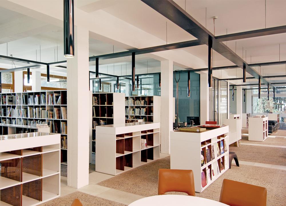 Bibliothèque Villa Arson, Nice