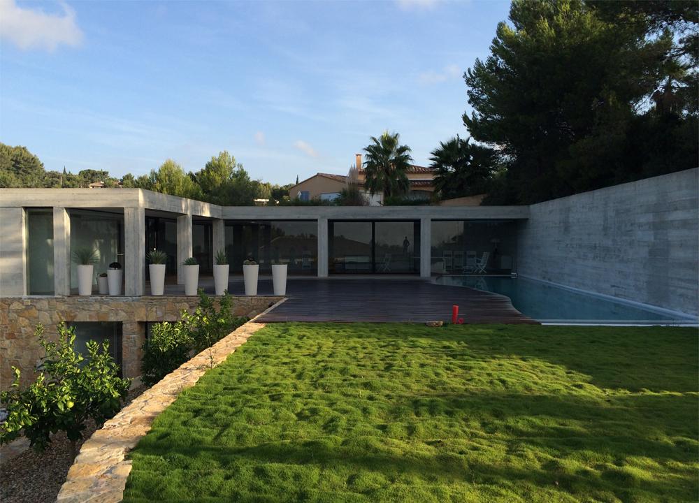 Villa Reganeu, Bandol